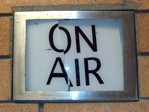 Radio Station Icebreaker On Air Sign