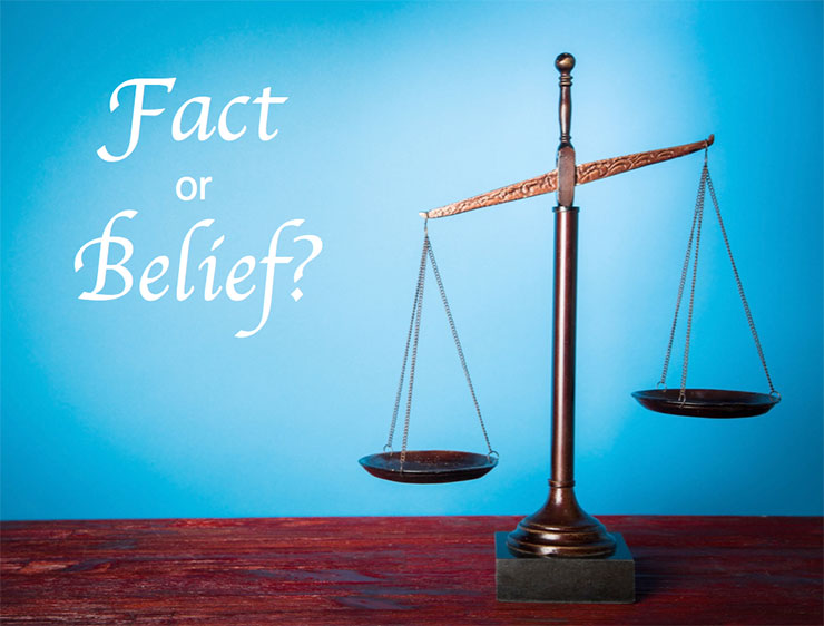 Is it a Fact or Belief?
